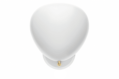 Cobra Hard-wired Wall Light Matt White