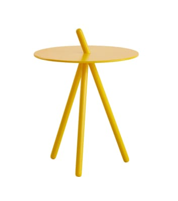 Come Here side table Yellow
