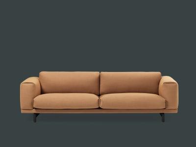 Compose 3 Seater Sofa Oak, Divina Melange 2 120