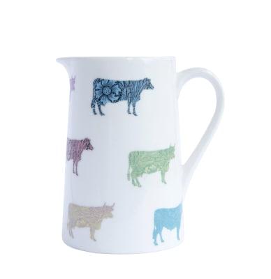 Cows Milk Jug Half Pint