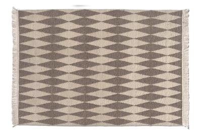 CP02 Neyriz Carpet Black and Quartz Grey, 200x300 cm