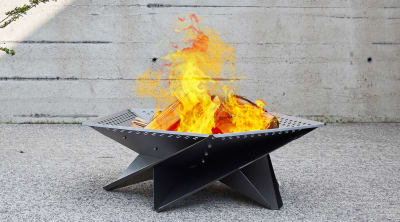 Cross Tân - Outdoor fire pit