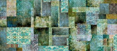 Culcita Emerald Wallpaper Sample (A4)