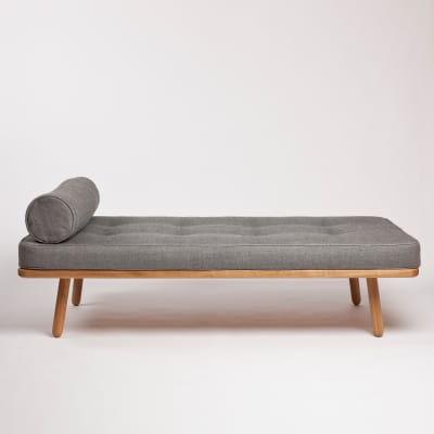 Day Bed One Bolster Turnberry Grey