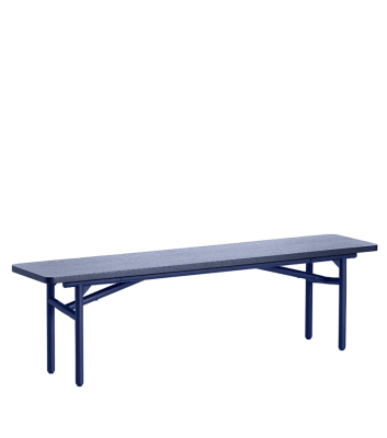 Diagonal bench Blue