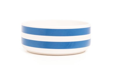 DIDO cereal bowl - stripes blue