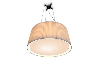 Divina Extra Large Pendant Lamp White plissé