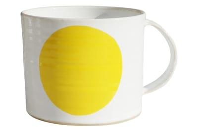 Dot Mug Yellow, Extra Large