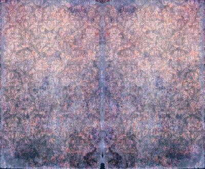 Duprez Vintage Violet Wallpaper Sample (A4)