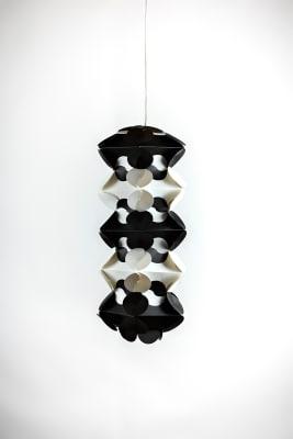 Ego Drac Pendant Lamp Shade Black and White