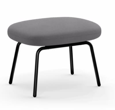Era Footstool Fame 60078, Lacquered Steel
