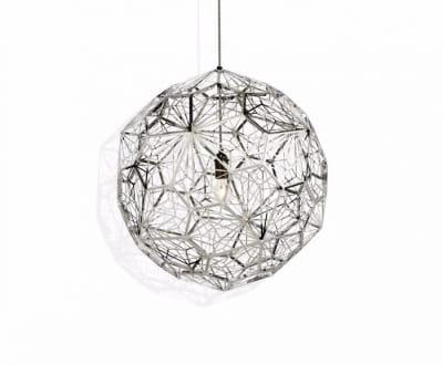 Etch Web Pendant Light Steel
