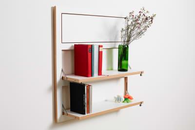 Fläpps 3 Shelves White