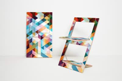 Fläpps Folding Chair  Multicoloured