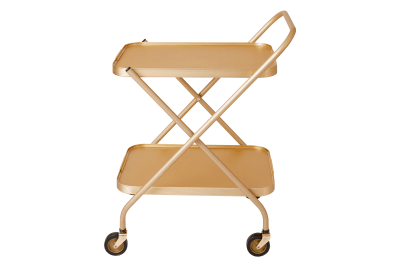 Folding Trolley Gold