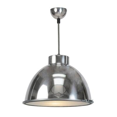 Giant Pendant Light Large, Natural Aluminium with no Glass