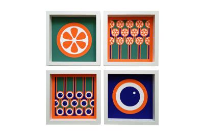 Giclee Art Print Set of 4