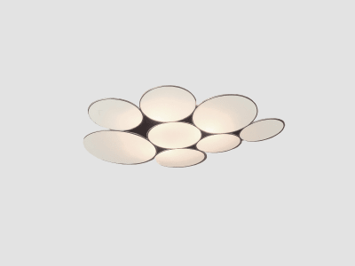 Gluc Ceiling Light Red