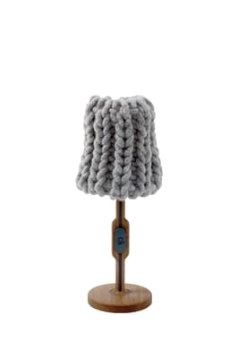 Granny Table lamp light grey