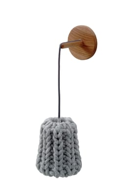 Granny Wall Lamp light grey
