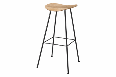 Gubi 2D Counter Stool Center Base - Unupholstered Gubi Wood Oak
