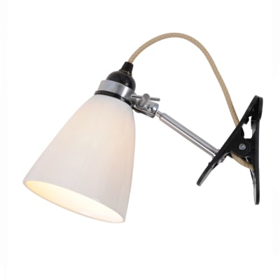 Hector Dome Clip Light Natural White, Medium