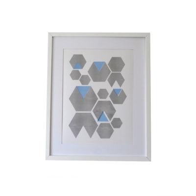 Hexagon Print