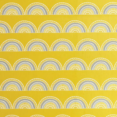 Horseshoe Arch In Yellow Wallpaper - Sample