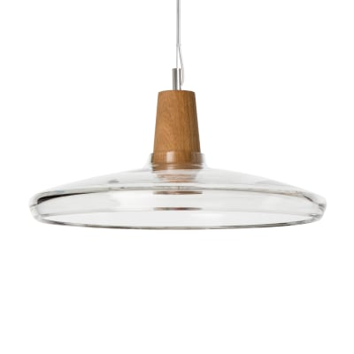 Industrial 36/08P Pendant Light Clear