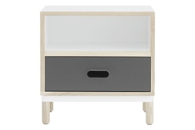 Kabino Bedside Table Grey