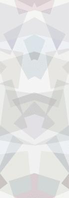 Kaleidoscope Wallpaper Grey