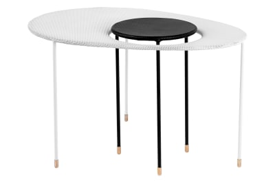 Kangourou Coffee and Side Table Gubi Metal Black