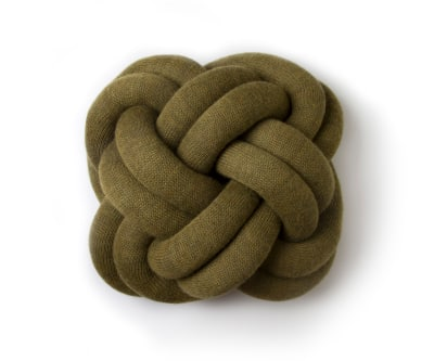 Knot Cushion - set of 2 Green