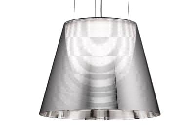 KTribe S Pendant Light S2, Aluminized Silver, Large