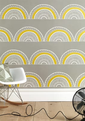 Large Horseshoe Arch Wallpaper