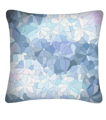 Large Mosaic Printed Cushion