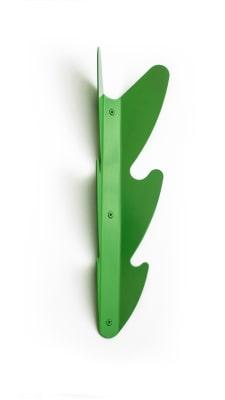 Leaf Coat Rack Green
