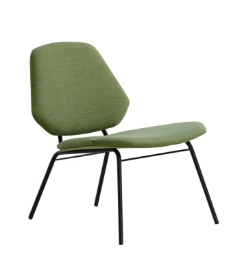 Lean lounge chair Green