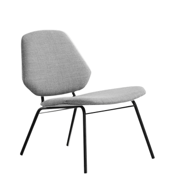Lean lounge chair Grey