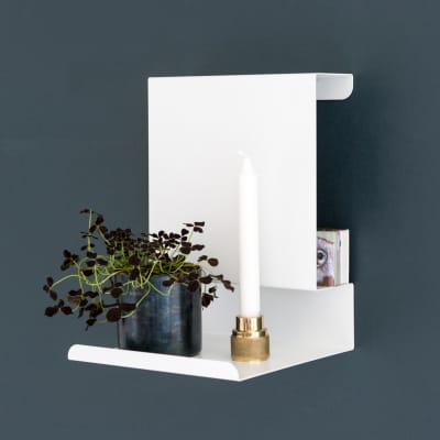 Ledge:able Shelf White