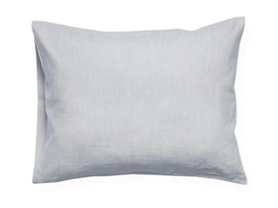 Dove grey linen pillowcase 2 pillowcases 50x75cm