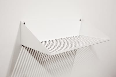 Lines Shelf White