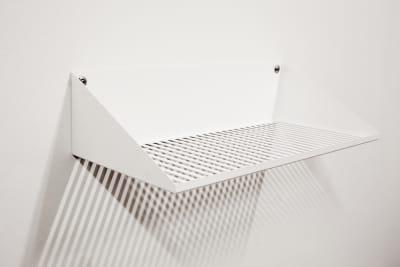 Lines Shelf White