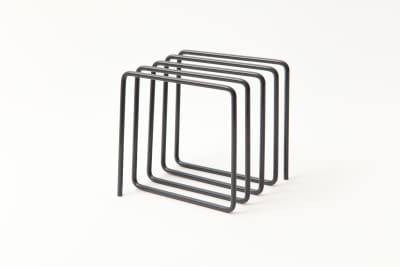 Magazine Rack Grey