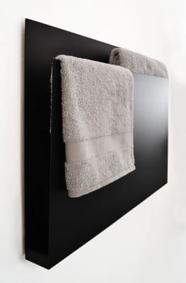Magazine Towel Warmer Black