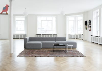 Mags Chaise Lounge Modular Element 8161 - Right Divina Melange 2 120