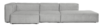 Mags Soft Chaise Lounge Extra Wide Modular Element S8362 - Left Steelcut Trio 2 105