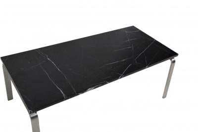 Man Coffee Table Black Marble