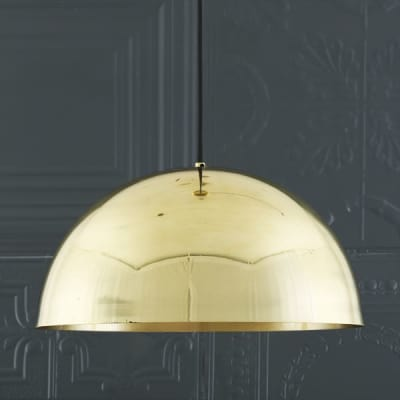 Maua 40cm Pendant  Polished Brass