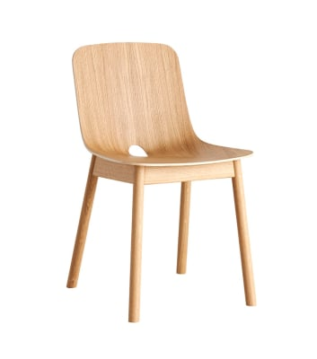 Mono dining chair - set of 2 Oak